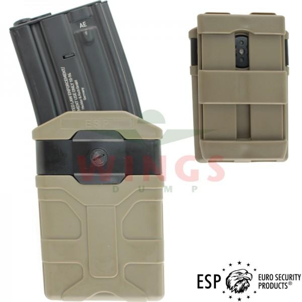 ESP molle magazijnhouder voor M4 tan