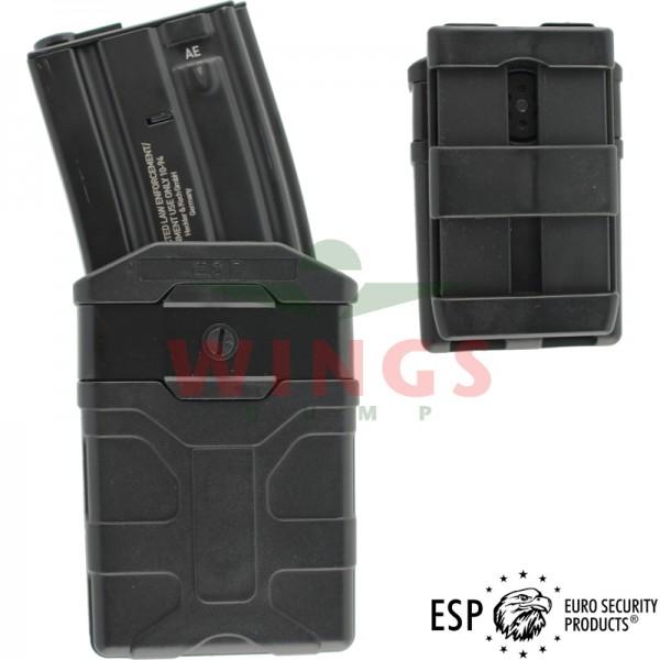 ESP molle magazijnhouder voor M4 zwart