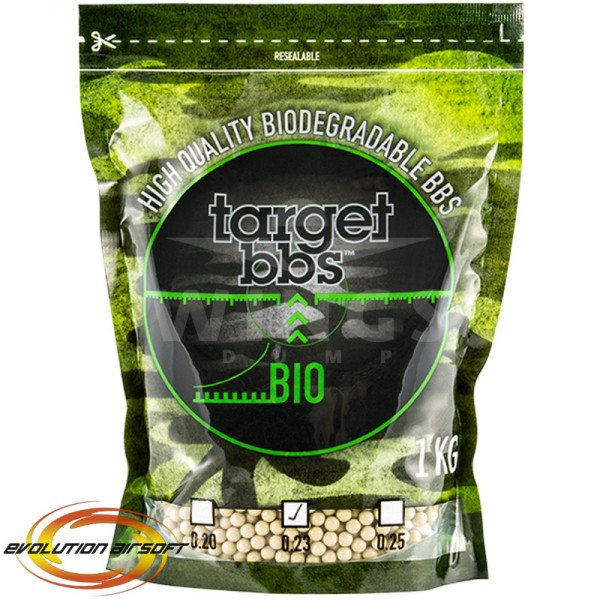 Target bio bb's 0,23 gram 1kg tan