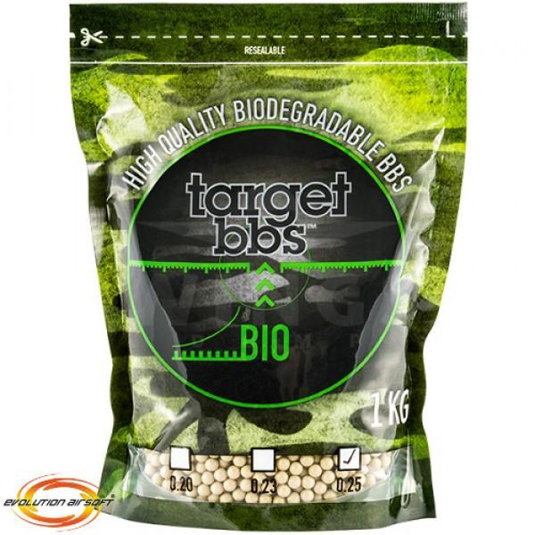 Target bio bb's 0,25 gram 1kg tan