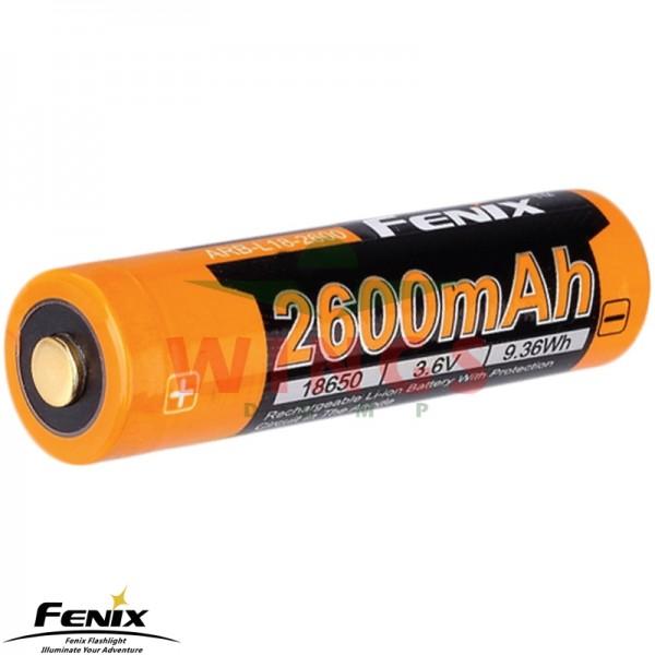 Fenix accu 18650 2.600 mAh