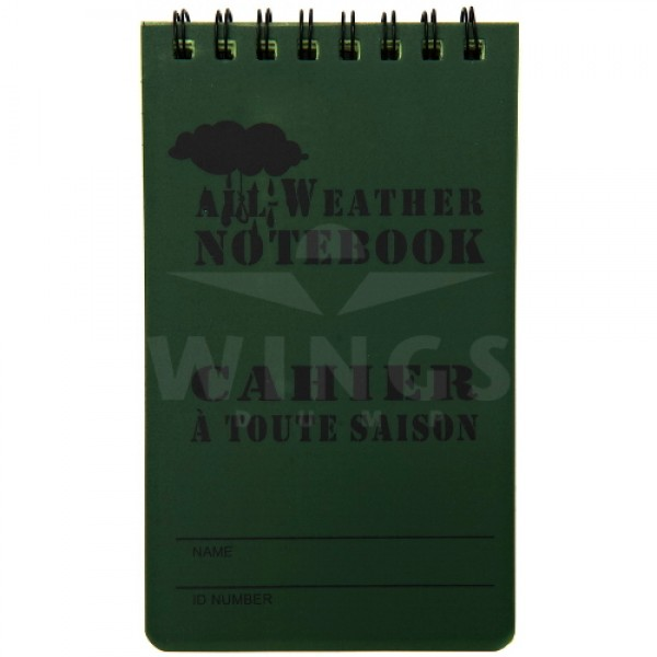 All weather notebook klein