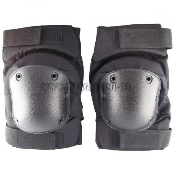 Kniebeschermers neoprane zwart