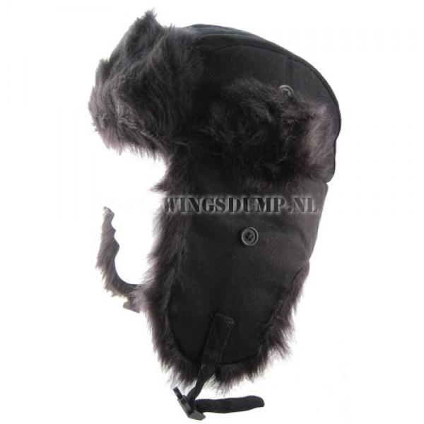 Bontmuts arctic zwart