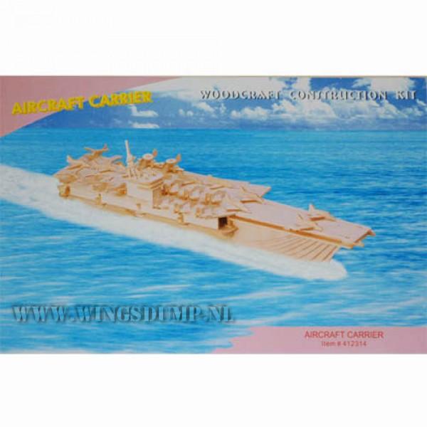 Houten bouwpakket Aircraft Carrier