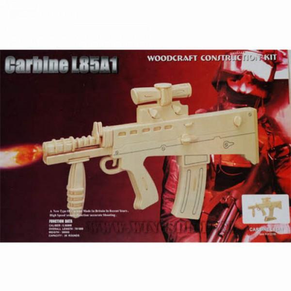 Houten bouwpakket Carbine L85A1
