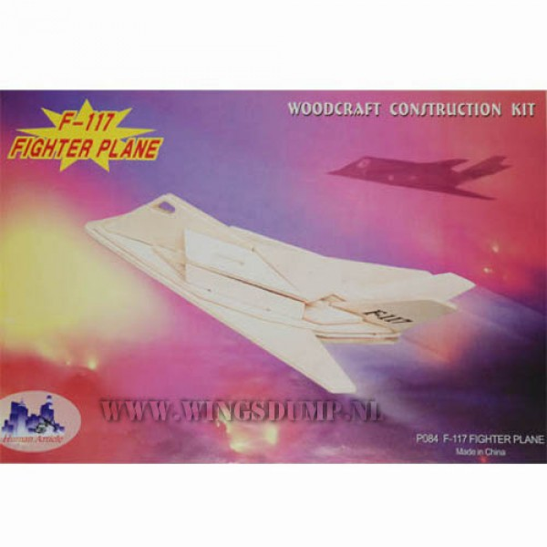 Houten bouwpakket F117