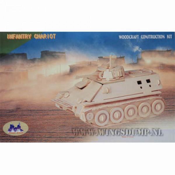 Houten bouwpakket Infantry Chariot