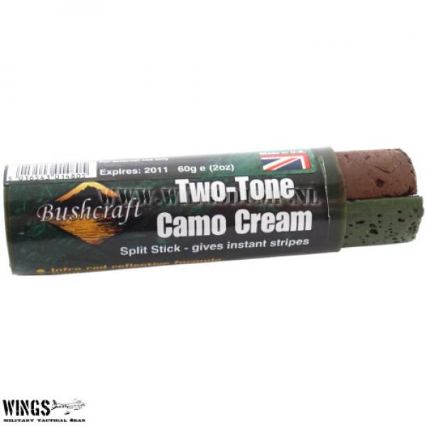 Camouflage stick Wesco bruin-groen