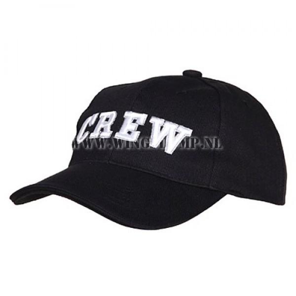 Cap CREW zwart