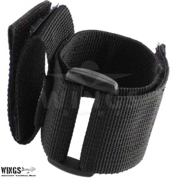 Handschoenhouder cordura zwart
