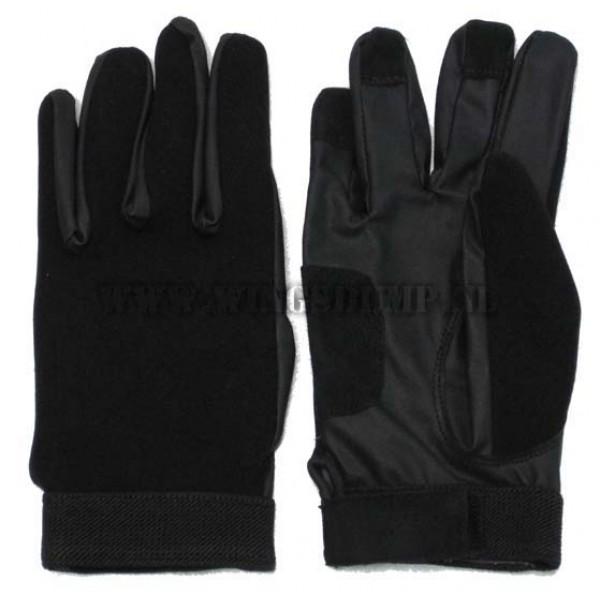 Handschoen neopreen zwart