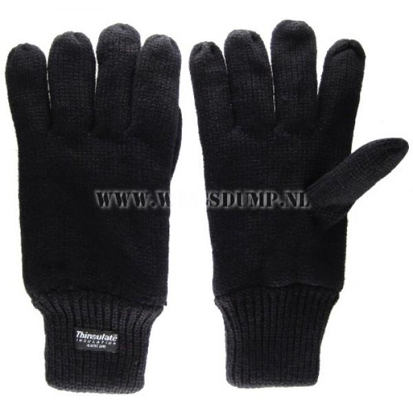 Handschoen thinsulate zwart
