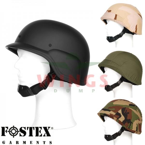 M-88 helm zwart met 3 covers