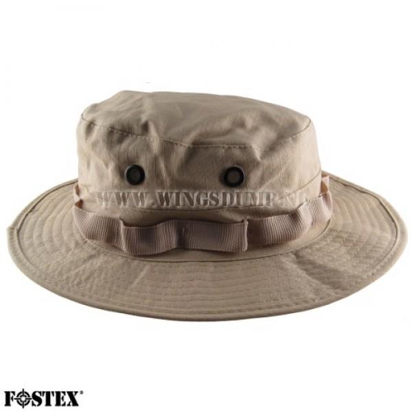Bush hoed ripstop beige