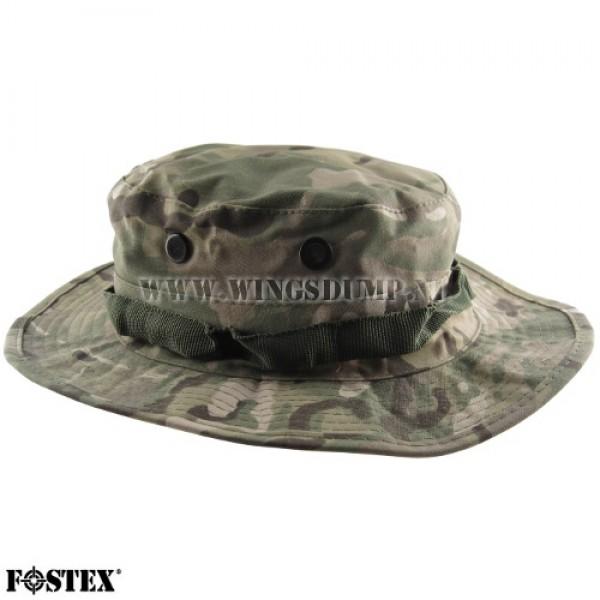 Bush hoed ripstop multi camo