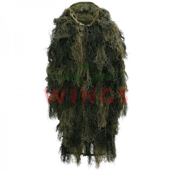 Ghillie suit parka woodlandcamo