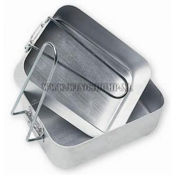 Mess tin set aluminium