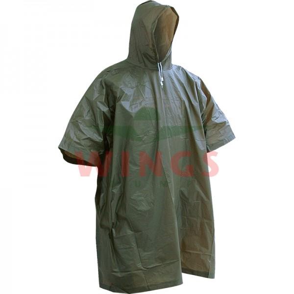 Poncho lightweight groen