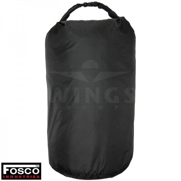 Waterdichte zak groot zwart