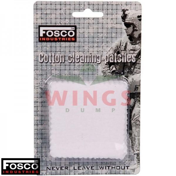 Cleaning patches cotton 7x7 cm. 25 stuks