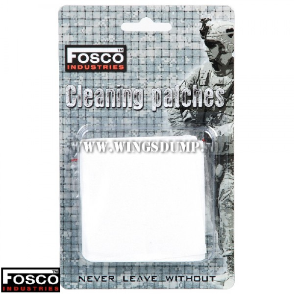 Wapen cleaning patches