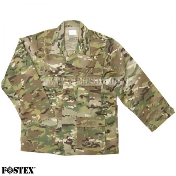 Bdu Overhemd multi camo