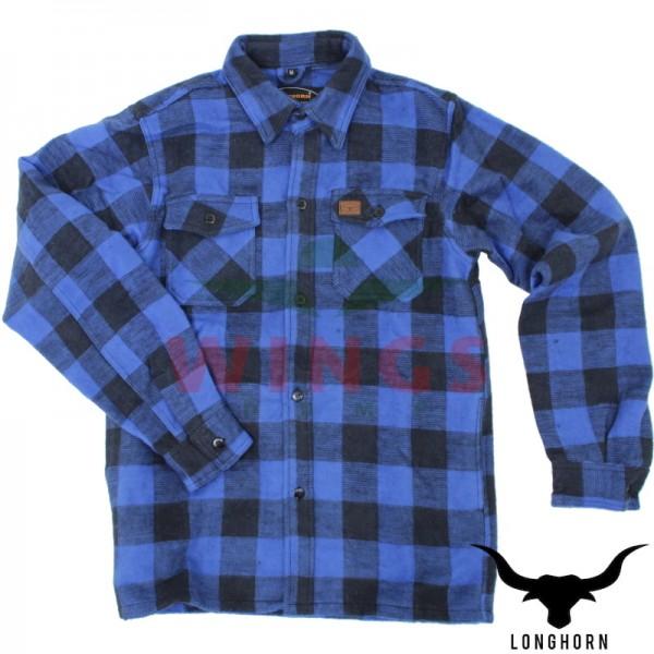 Canada hemd blauw zwart