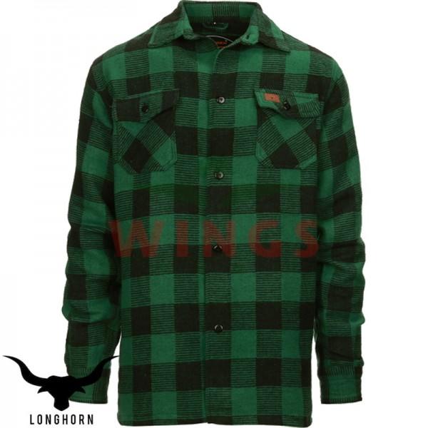 Canada hemd groen zwart