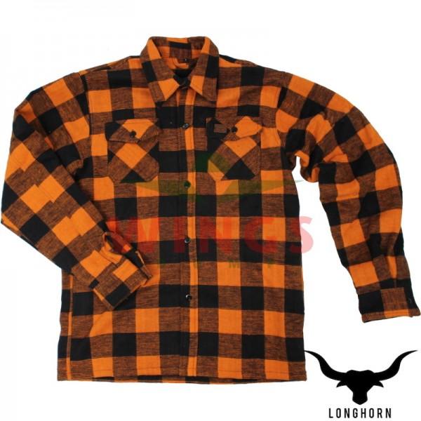 Canada hemd oranje zwart