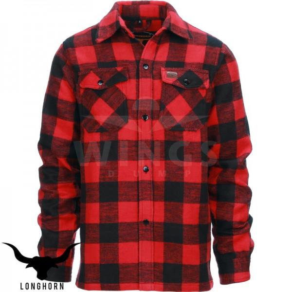Canada hemd rood zwart