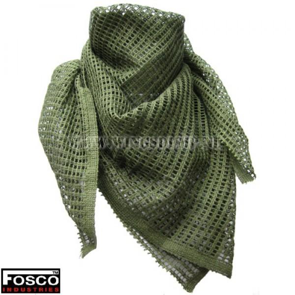 Net sjaal klein groen