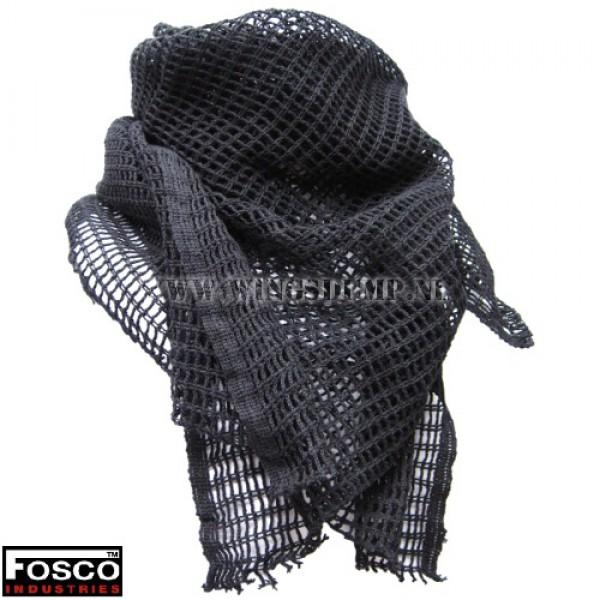 Net sjaal klein zwart