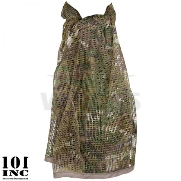 Net sjaal 180x85 cm multicamo