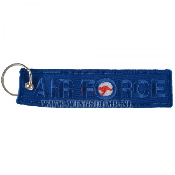 Label sleutelhanger Airforce