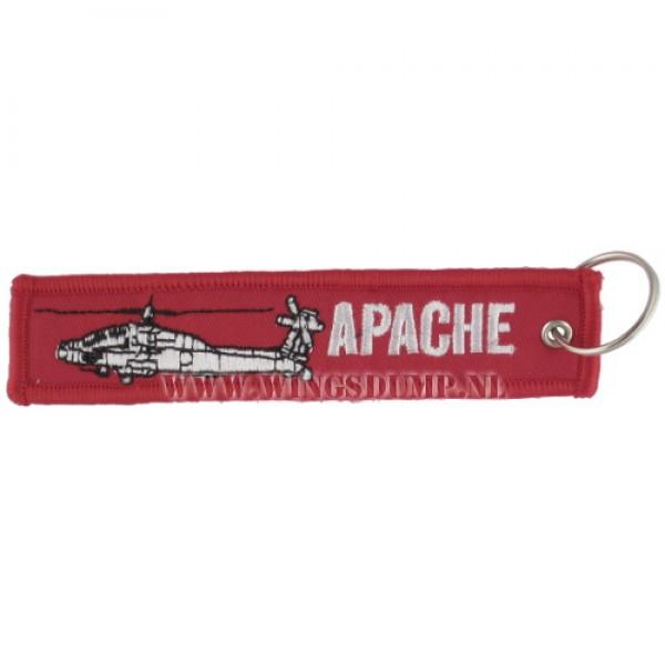 Label sleutelhanger Apache