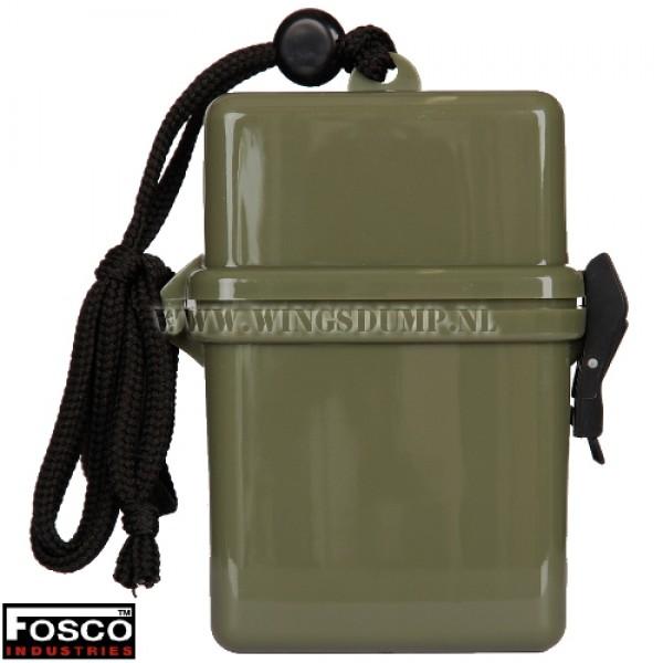 Waterproof box groen