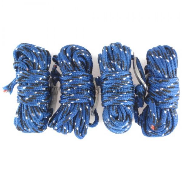 Scheerlijn set nylon blauw