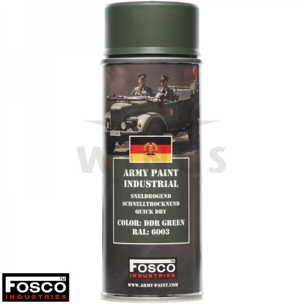 Legerverf spuitbus 400ml DDR green