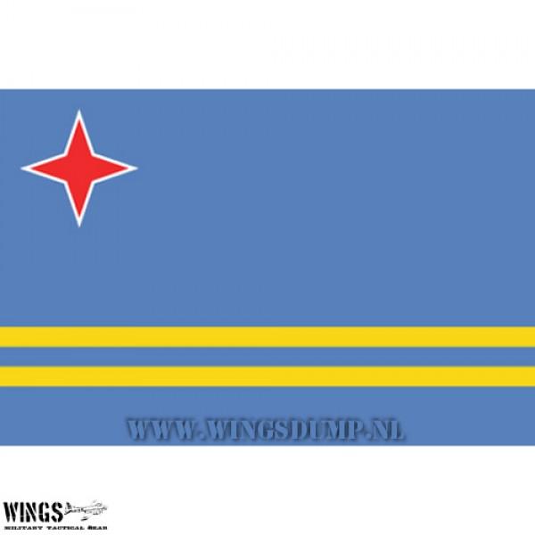 Vlag 150 x 100 cm. Aruba