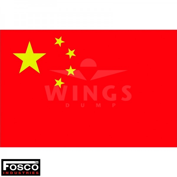 Vlag 150 x 100 cm. China