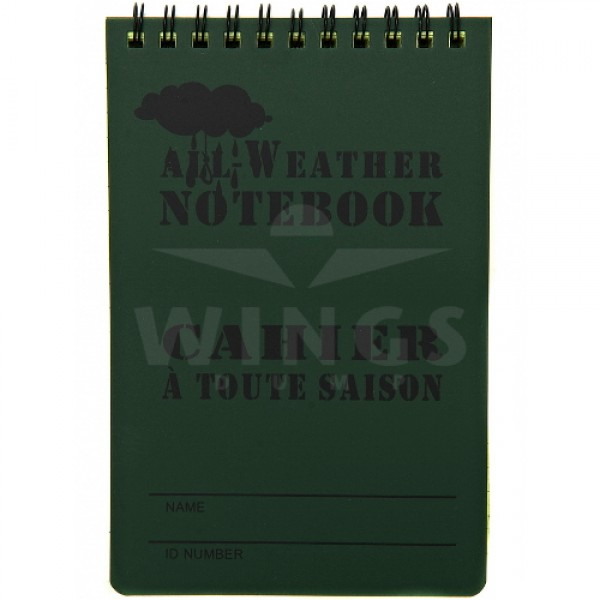 All weather notebook groot