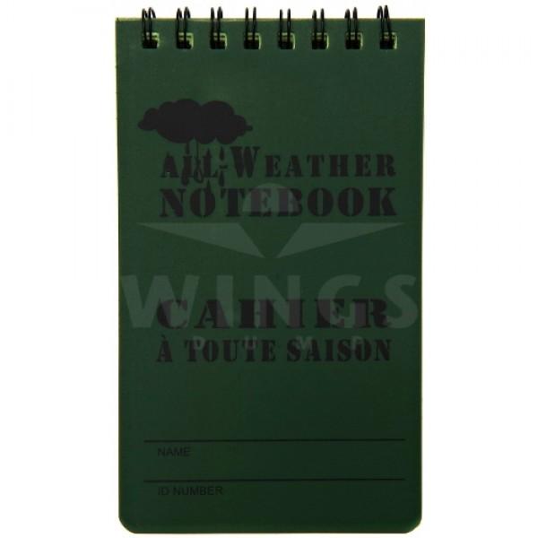 All weather notebook klein