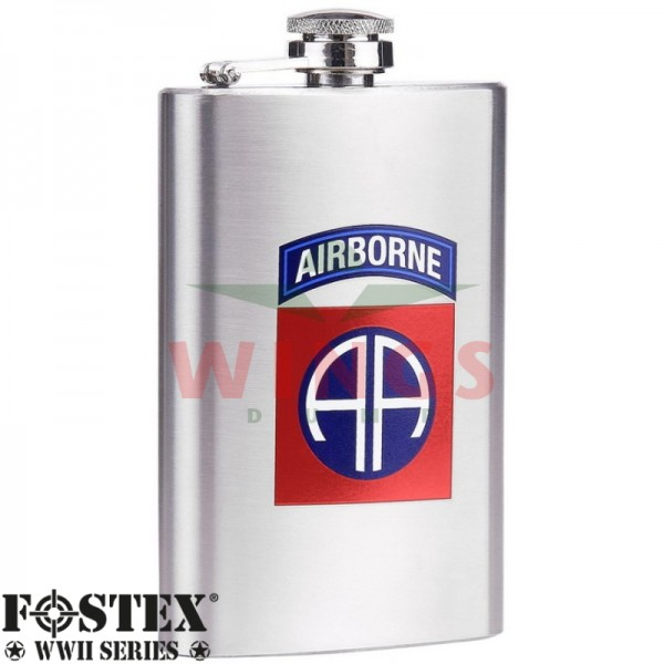 Zakflacon U.S. Airborne 82nd. rvs 150 ml.