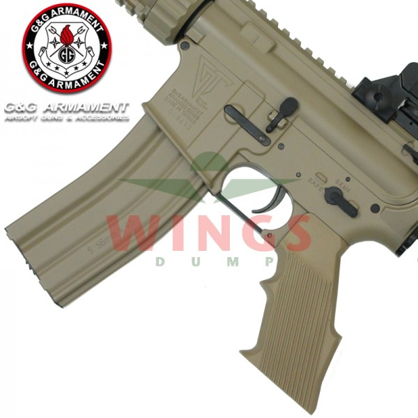 G&G TR16 CQW full metal desert tan