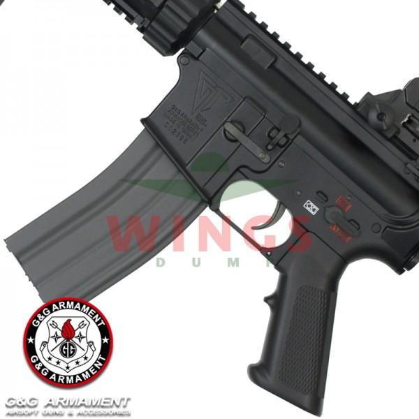 G&G TR4 CQB-S full metal zwart