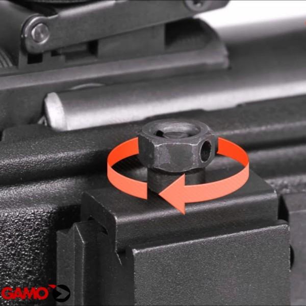 Gamo dual bipod metal extensible
