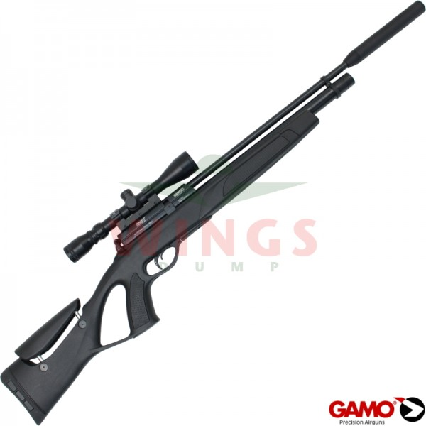 Gamo Black Tactical Coyote pcp buks met pomp 5,5 m.m.