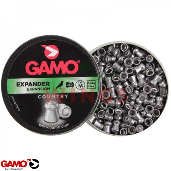 Gamo expander 4,5 m.m. 250 stuks