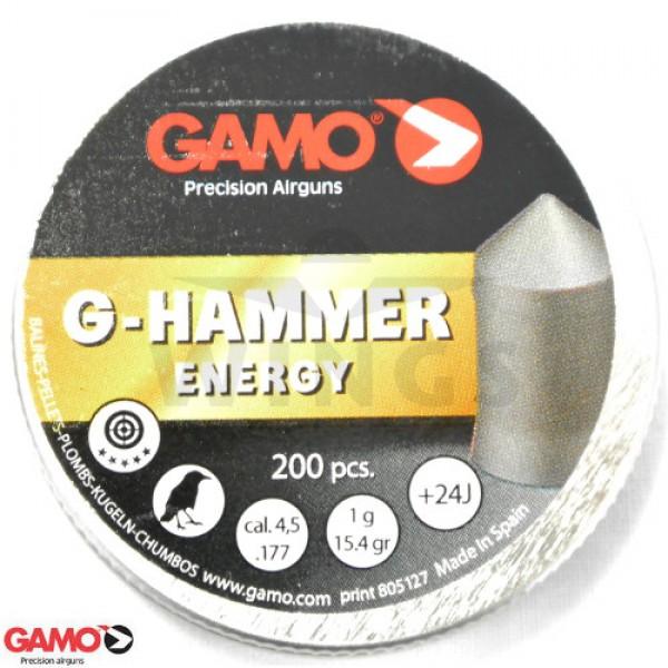 Gamo G-Hammer Energy 4,5 m.m. 200 stuks